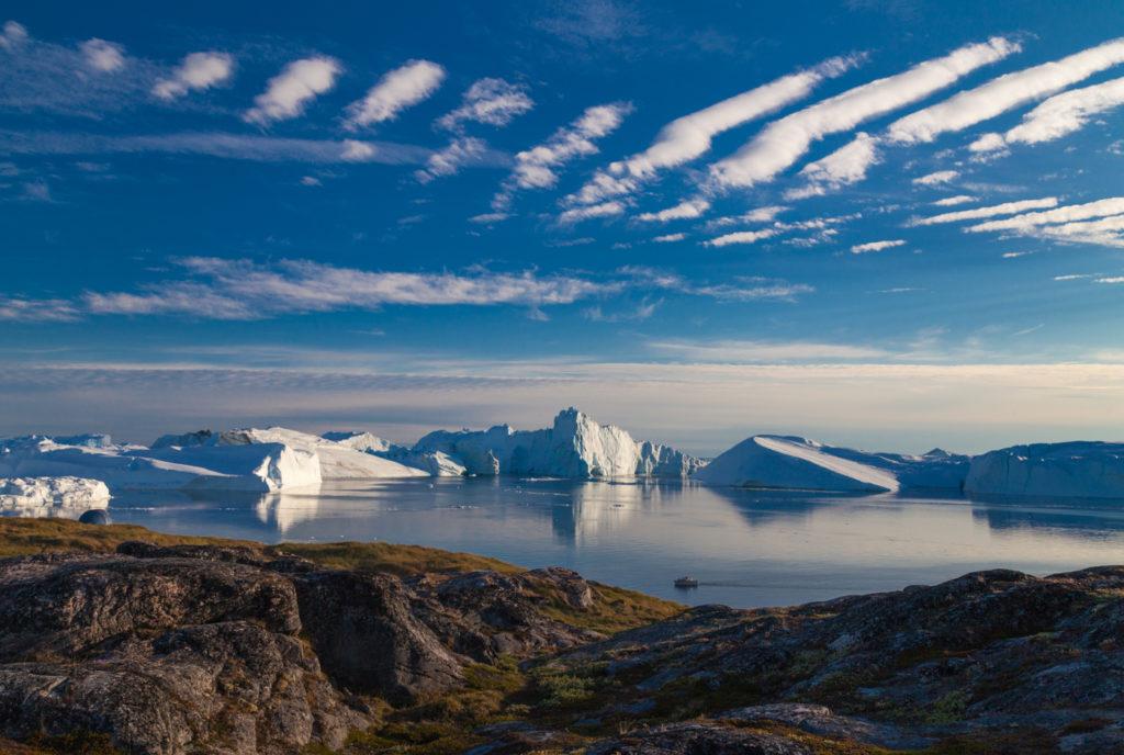 Пейзаж Гренландия Айсфьорд