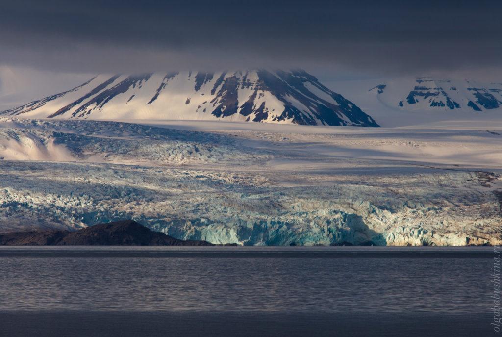 Ледник, Арктика, Свальбард