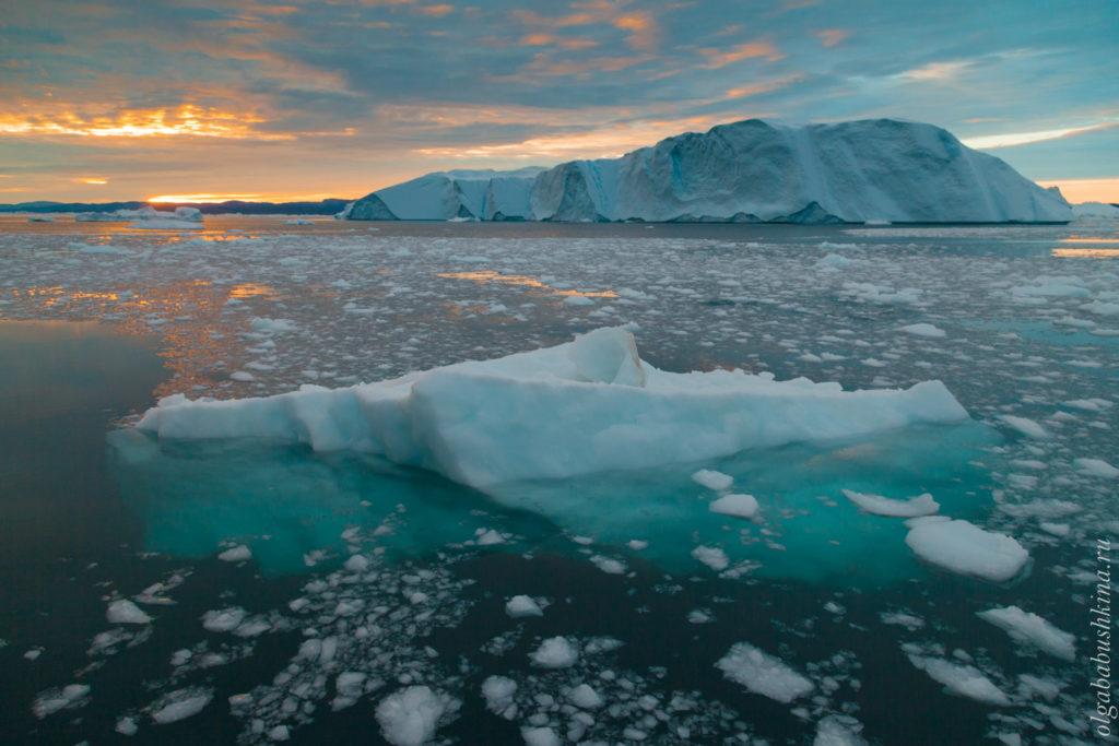 Фототур Гренландия айсберг