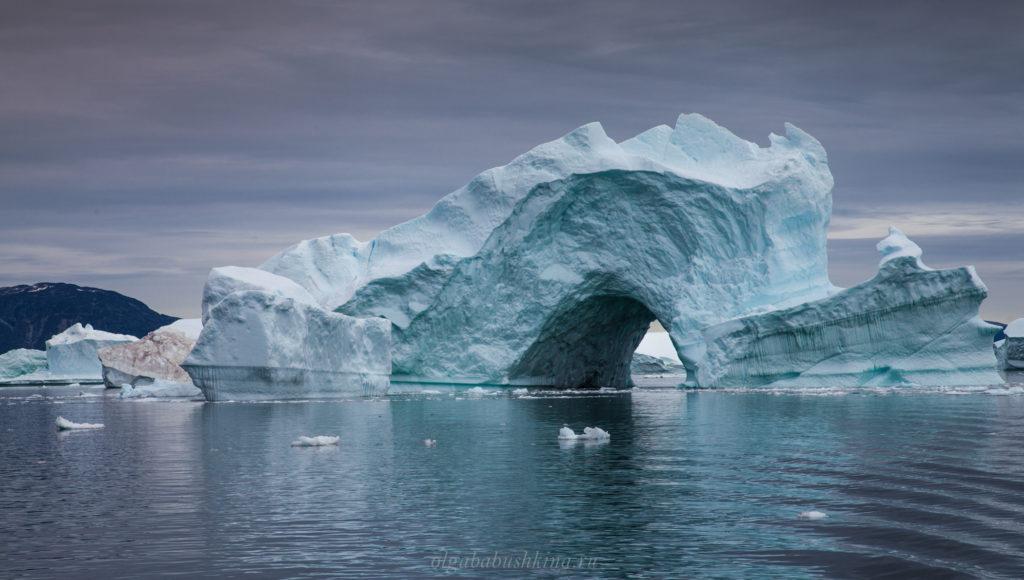Айсберг Гренландское море