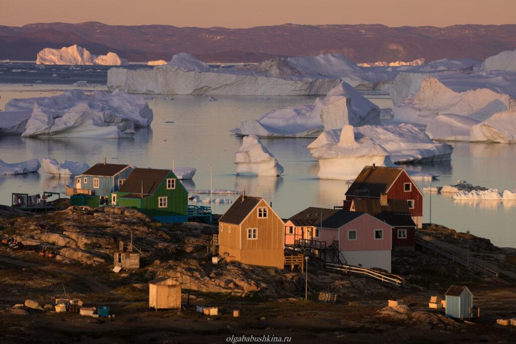 деревня Саркак, Гренландия