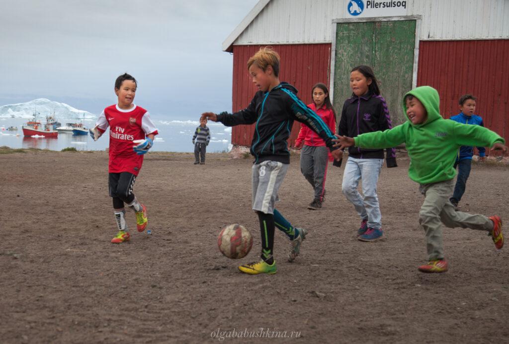 Гренландцы футбол