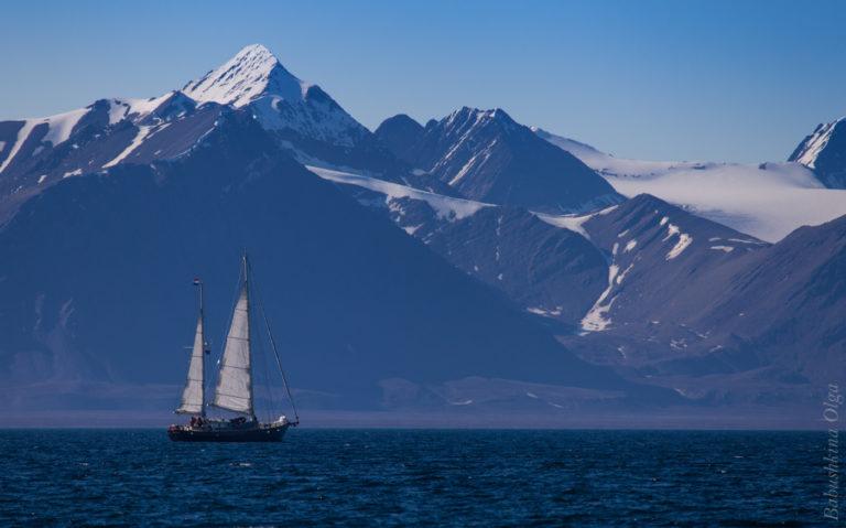 Путешествие на яхте Шпицберген